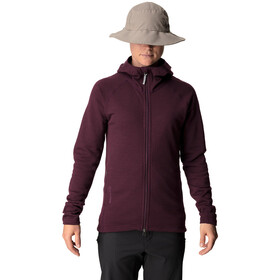 Houdini Wooler Houdi Jacket Dam rasberry rush red